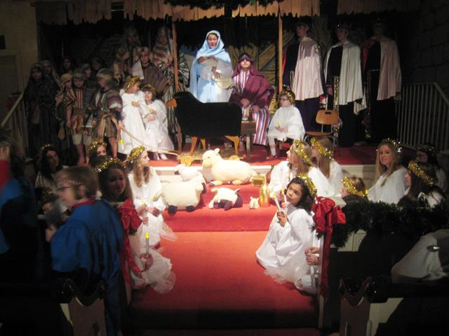 Christmas Pageant Tableaux